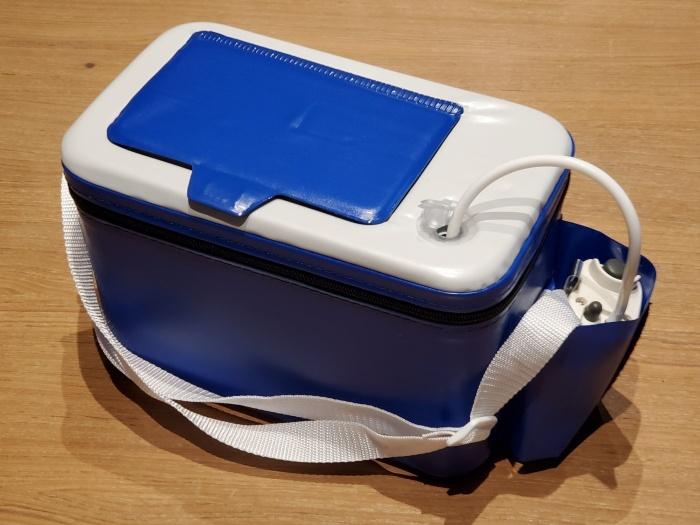エサクーラー & 乾電池式エアーポンプ(ブクブク)